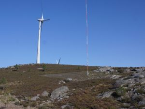 Met mast for complex site in Portugal was successfully refurbished for PTP in May 2018