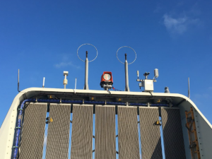 Nacelle LiDAR installed and commissioned in Offshore wind farm for PTP at 06.02.17